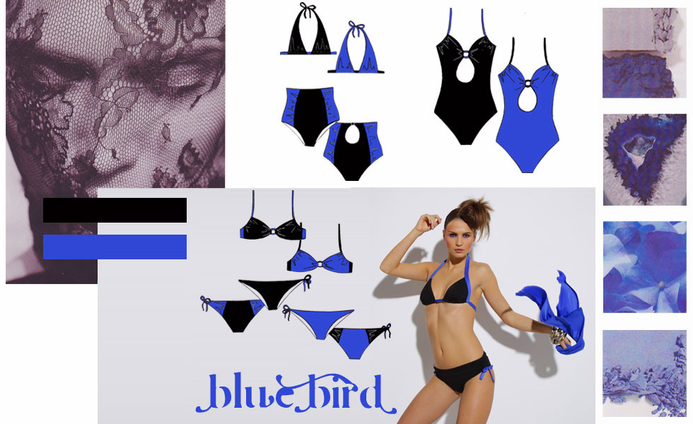 Stylisme Bain Blue Bird