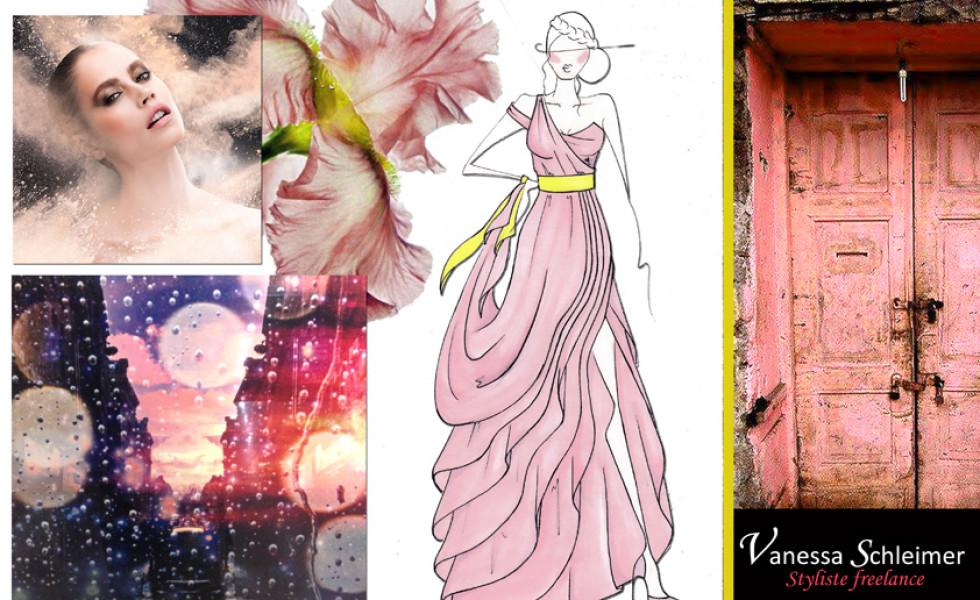Stylisme robe du soir
