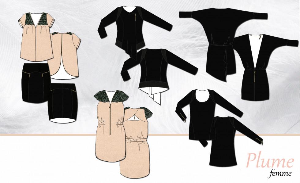 Collection de prêt à porter Femme de la marque Plume