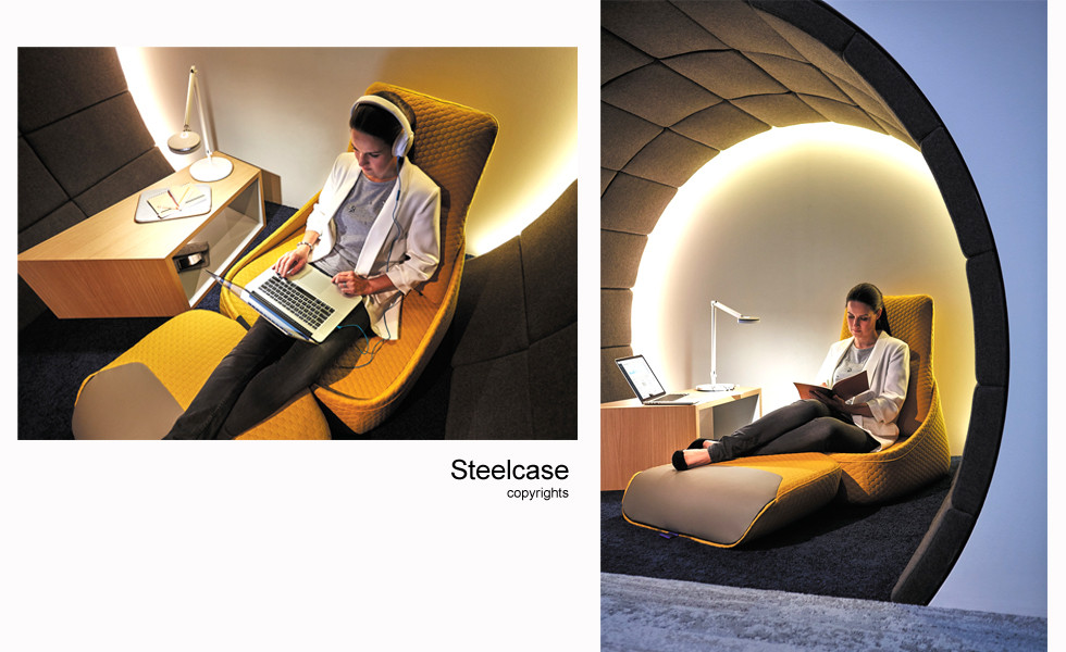 Stylisme photo Steelcase Londres