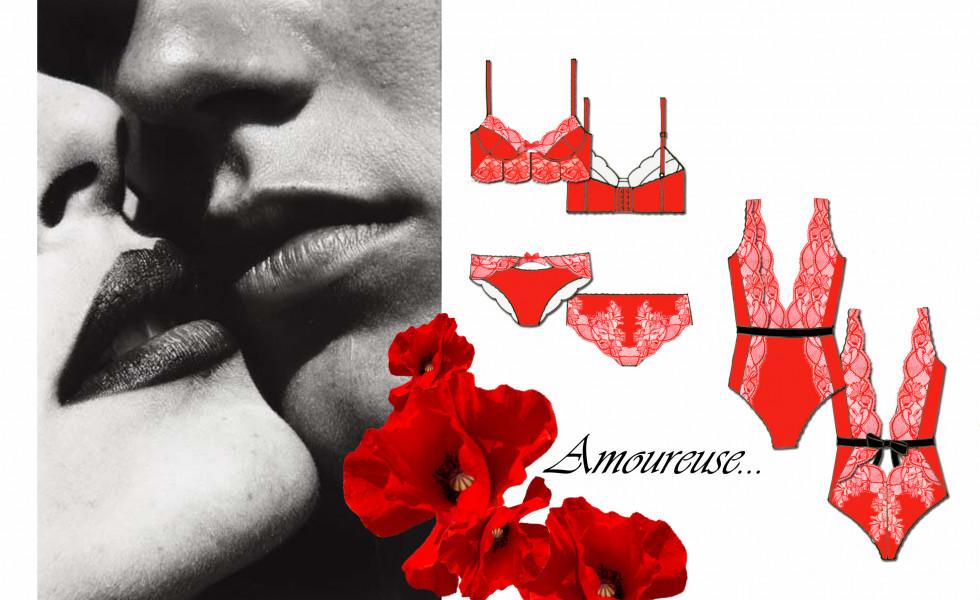 Stylisme – Lingerie – Amoureuse